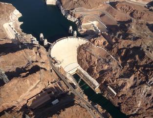 Hoover Dam Aeriel