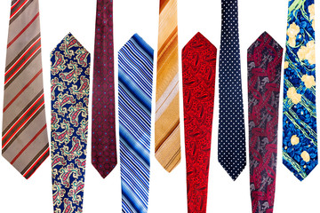 Collection of vintage ties