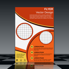 Booklet vector template