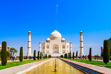 Wall Mural - The Taj Mahal