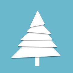 Creative paper tree