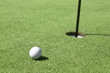Golf Ball Near Miss