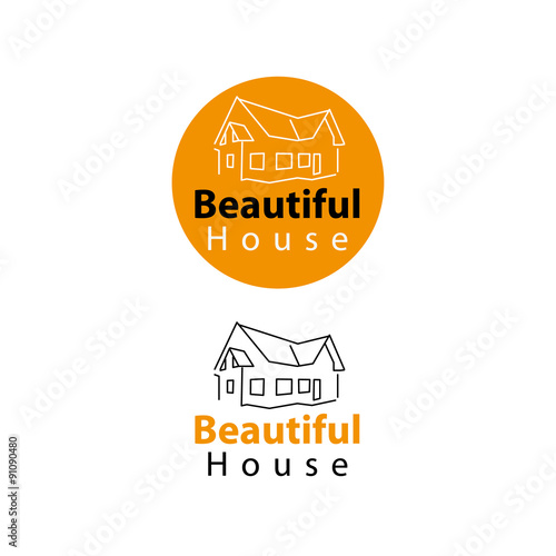 Logo constructora inmobiliaria casa obraz w stockowych i for Constructora casa