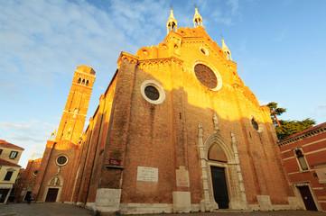 Venezia Parrocchia Santa Maria Gloriosa dei Frati