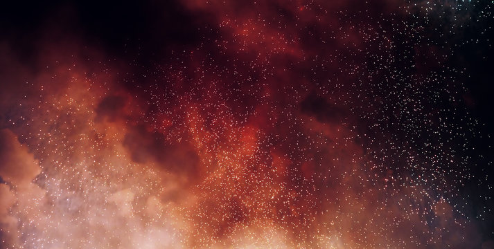 sparks of bonfire night