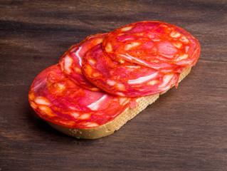 half-eaten bread