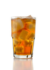 Iced Tea on White (clipping path)