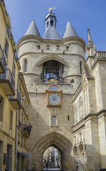 Grosse Cloche bell tower, Bordeaux, France