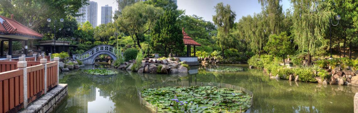 Moon Bridge Garden