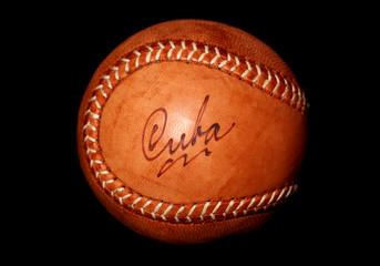 vintage style cuban baseball