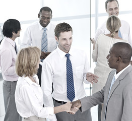 Business People Agreement Team Teamwork Concept