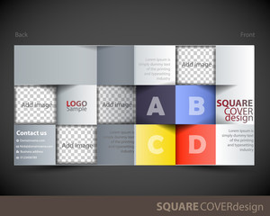 Square cover design