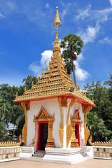 Wat Nong Wang ,thai temple at Khon kaen provine in thailand