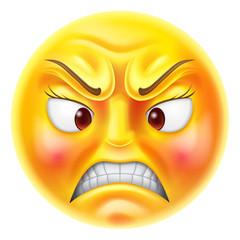 Angry Emoticon Emoji