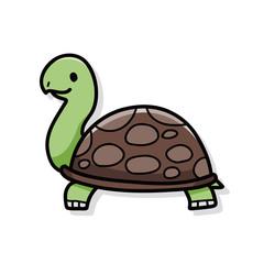 animal turtle doodle