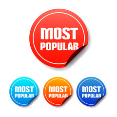 Most Popular Round Stickers