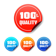 100% Quality Round Stickers