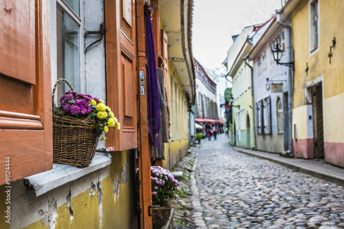 Таллин Эстония улочка бесплатно