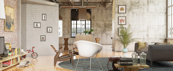 luxury Loft apartment in downtown - luxus loft apartment innenst