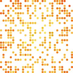Orange Random Dots Background, Creative Design Templates