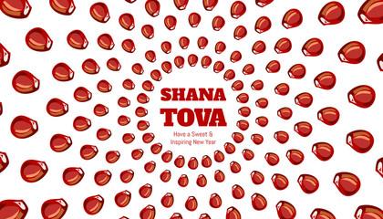 Shana tova photos royalty free images graphics vectors videos shana tova greeting card for inspiring and sweet new year m4hsunfo
