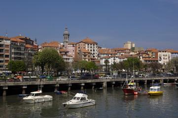 port of Bermeo, Basque Country