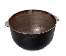Old dirty pot