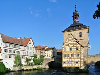 Bamberg, Rathausbrücke