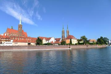 Ostrów Tumski - najstarsza dzielnica Wrocławia