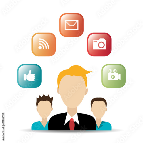 """Social media entertainment graphic design"""" Stock image and royalty"""