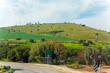 Fototapete - Landscape around Galilee Sea - Kinneret Lake
