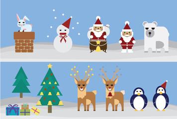 set of christmas