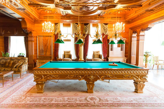 Luxurious billiard