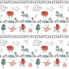 Vector ornament Christmas Calligraphic Design Elements