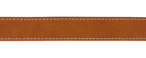leather with seam, belt background
