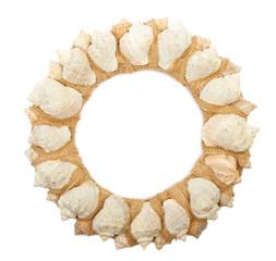 Wreath of sea shells