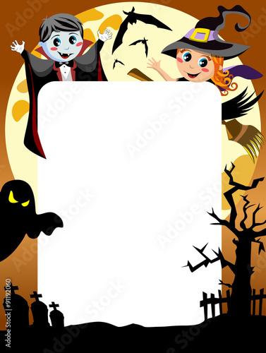 Halloween Kids Frame\