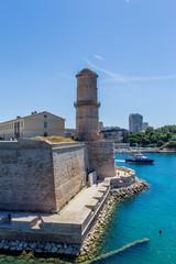 Le fort Saint-Jean à Marseille