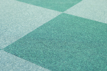 Green carpet texture background