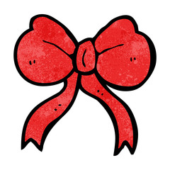 cartoon bow tie