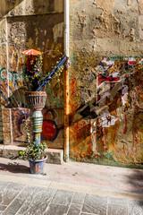 Street Art rue du Petit Puits à Marseille