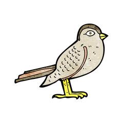 cartoon garden bird
