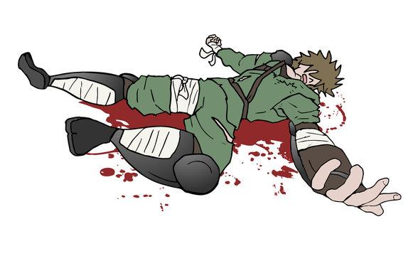 samurai dead