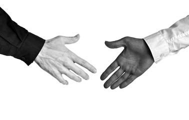 Business concept of racial diversity and equal opportunity in the workplace