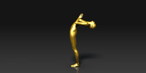 The Full Sun Salutation Yoga Pose