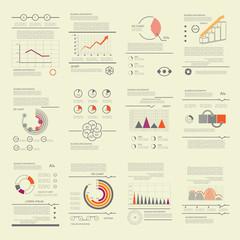 Templates for presentation, modern business design