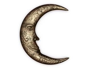 Metal moon