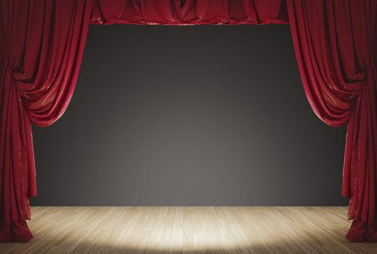 Palco teatro presentazione live