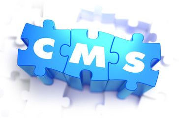 CMS - Word on Blue Puzzles.