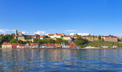 Panorama Meersburg by Lake Constance (Bodensee)